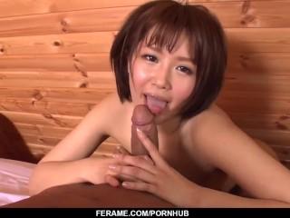 Mature cock riding home porn with Seira Matsuoka - More at Slurpjp com xxx hot sexy