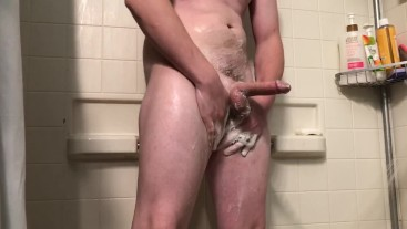 Having some fun in the shower