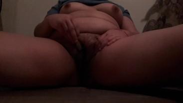 Masturbating with ice