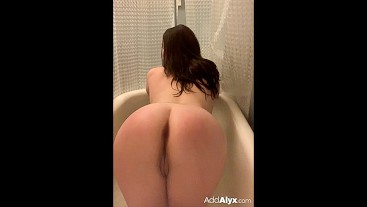 Long day. Time to talk dirty to you and cum in my hot bath.