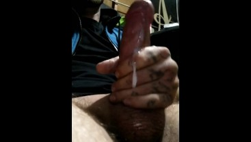 Quick orgasm before bed!