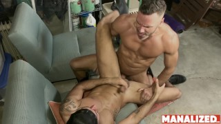 MANALIZED Hunk Manuel Skye Fucks Inked Latino And Cums Hard