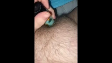 playing solo with my wet pussy