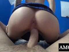 Naughty Student Fuck Teacher While Parents were in Next Room