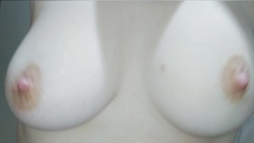 (HD) Boob play - shaking, teasing nipple, squeezing.