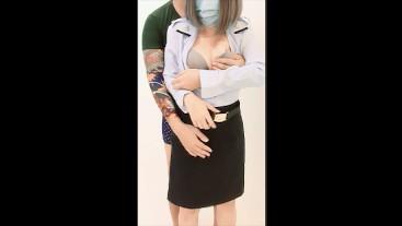 Soldier Girl ผู้กองยอดรัก...ยอดขอแตกในนะ [ลูกสาวนายพล ติดใจควยพลทหาร] - Thai Miss Creampie