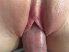 ASMR: Close up wet pussy sounds and girl moans