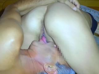 Guy Eating Own Cum After Creampie (creampie eating)