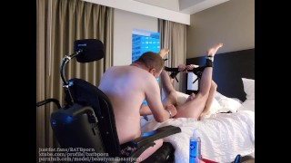 *Trailer* Teaching an Old, Gay Dog New Tricks, Handicap Alpha Dom and FtM sub