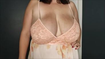 Huge natural tits BBW