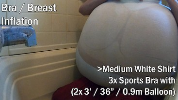 WWM - Medium Shirt and Sports Bra Inflation