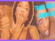 Teen Trans Cum Compilation
