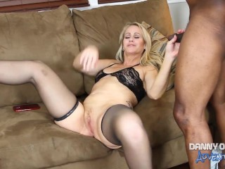 Preview 3 of DOCEAN MILF Whore Simone Sonay Creampied by Black Bull
