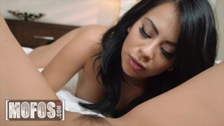 MOFOS - Gorgeous Monica Asis & Jaye Summers Eating Each Other Pussy While Bf's Watch The Game