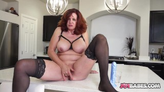Busty Wife Andi James JOI to Husband's Friend