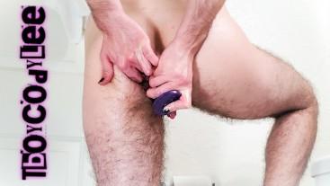 FTM Boi's Bathroom Butt Plug Bonanza