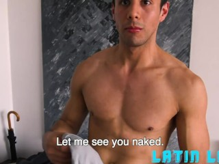 Latino Hottie Gael Fucked By Two Hunks In The Shower