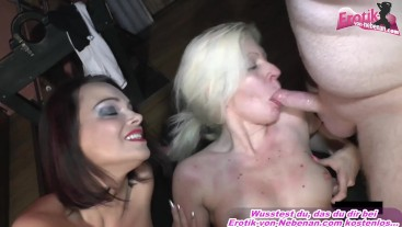 german blonde milf sexparty with huge cum loads
