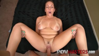 Big Natural Tits Melanie Hicks Bick Cock POV