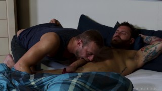 ExtraBigDicks - Riley Mitchell Gets Help With His Morning Wood
