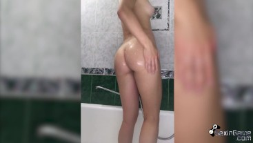 Passionate Play Pussy after Class - Solo