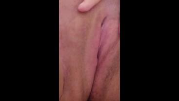 Pink pussy masturbation