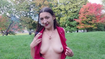 Inhale 39 Smoking Fetish & Urban Nudism by Gypsy Dolores