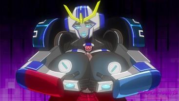 Strongarm Autobot Boobjob