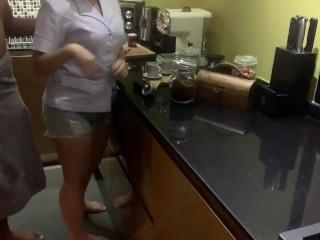 เย็ดเพื่อนสาวพยาบาล คาชุด แตกใส่ปาก น้ำข้นมาก ขอเย็ดต่อแต่เพื่อนไม่ให้ ไทยแท้ เสียงไทย Thai Nurse