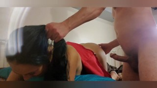 Prepping Pin-Up pixie For Painal - spanking/hair pulling/rough doggystyle