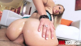 Anal Visions Blonde Slut Zoey Monroe Ass to Pussy