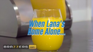 Brazzers - Lana Rhoades Celebrates 5 mil Subscribers With Anal