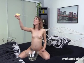 Tera Link Soaks Her Bed Sheets With Piss