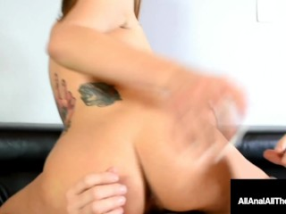 Butt Fucked Beauty Maria Marley Anal Pounded As Guy Watches!