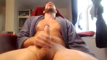 STUNNING perfect innocent shy male edge orgasms uncontrollably on Chaturbate