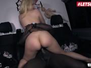BumsBus - Angel Wicky Big Tits Czech Blonde Hardcore Interracial Public Car Sex - LETSDOEIT