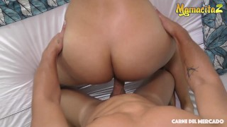 CarneDelMercado - Andreina De Luxe Huge Ass Latina Colombiana Takes A Fat Cock In Her Pussy