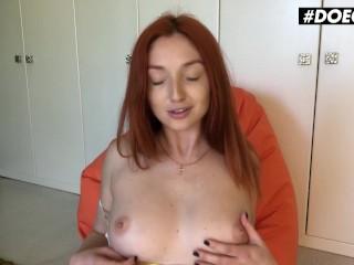 DoeGirls – Red Fox Kinky Ukrainian Babe Homemade Pussy And Asshole Masturbation