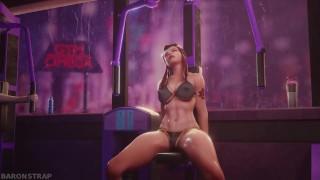 Brigitte's Sexy Workout