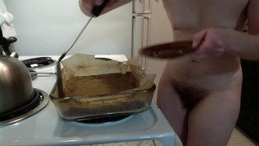 "Redhead Makes ""Special"" Blondies! (With Pot!) Naked in the Kitchen Episode 10"
