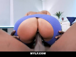 Busty MILF Fucks Her Personal Trainer