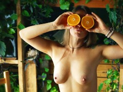 Fruit + Sex - Delicious Porn - Missionary On The Kitchen Table