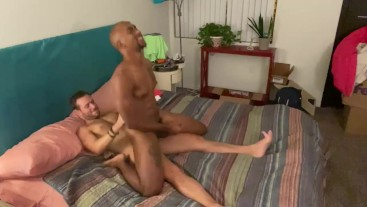 Interracial Jock Anal Pounding