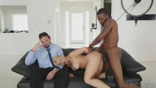 Reality Junkies - Sarah Vandella Is A Deprived Wife And She Cheats Him With A Big Black Cock