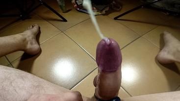 GEIL! Prostata Vibration Mega Orgasmus mit Stöhnen und spritzendem Cumshot