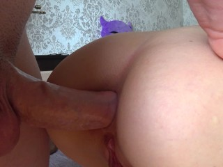Anal creampie redhead sister