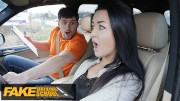 Fake Driving School Zuzu Sweet Gets Spunk in Mouth For Her Licence