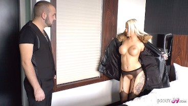 German Teen Tight Tini Suprise User with Sex on his Birthday