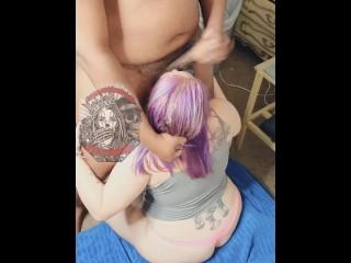 Choke & Spit On Me Like The White Slut I Am