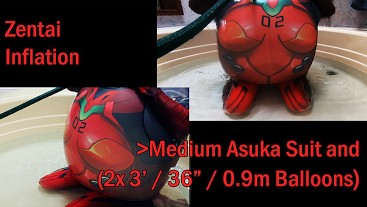 WWM - Asuka Zentai Inflation